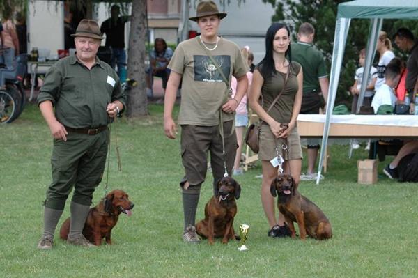 Najkrajší poľovnícky pes Šariša
