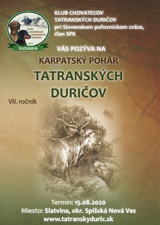 Karpatský pohár tatranských duričov