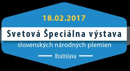 SVETOVÁ ŠPECIÁLNA VÝSTAVA slovenských národných plemien – CAJC, CAC